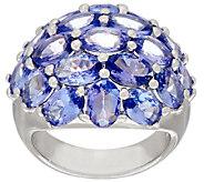 Tanzanite Cluster Design Ring 7.50 ct tw - J321074