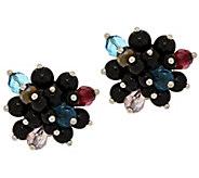 As Is Joan Rivers Clip or Pierced Starlet Style Cluster Earrings - J323774