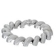 Judith Ripka Sterl. 6-3/4 Verona San Marco Bracelet 54.7g - J328774