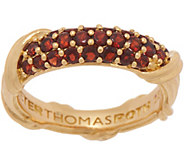 Peter Thomas Roth 18K Gold Garnet Pave Ring - J353274