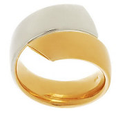 Vicenza Gold Polished Bypass Design Ring 14K Gold - J288275