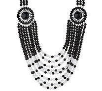"Joan Rivers Tribal Chic 24"" Necklace w/ 3"" Extender - J294775"
