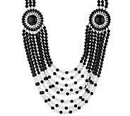 Joan Rivers Tribal Chic 24 Necklace w/ 3 Extender - J294775