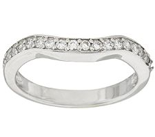 Epiphany Diamonique Band Ring