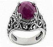 Carolyn Pollack Sterling Gemstone Doublet Ring - J318475