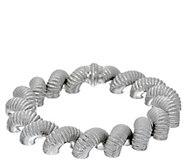 Judith Ripka Sterling 7-1/4 Verona San Marco Bracelet 56.2g - J328775