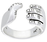 JAI Sterling Mens I Love Ring - J333675