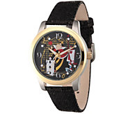 Disney Alice in Wonderland Womens Black Watch - J342275