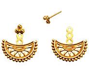 Satya Half Moon Mandala Earring Jackets - J342775