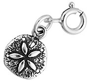 Sterling Small Sand Dollar Charm - J344175