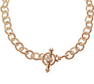 Judith Ripka 5th Avenue 14K Rose Gold-Clad Chain Necklace - J345775