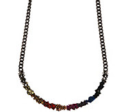 LOGO Links by Lori Goldstein Cluster Collar Necklace - J352375