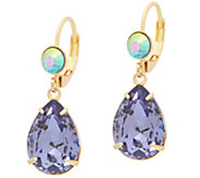 Kirks Folly Goddess Tears Leverback Earrings - J353075