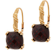 Peter Thomas Roth 18K Gold Garnet Leverback Earrings - J353275
