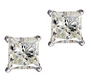 Princess Cut Diamond Stud Earrings, 14K, 9/10ctby Affinity - J313076