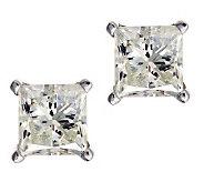 Princess Cut Diamond Stud Earrings, 14K, 9/10ctby Affinity - J313076