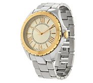 As Is Stainless Steel Round CaSe Bracelet Watch - J327876