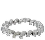 Judith Ripka 8 Sterling Verona San Marco Bracelet 63.2g - J328776