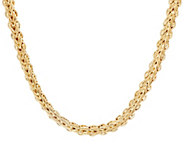 14K Gold 18 Braided Woven Necklace, 18.0g - J331576