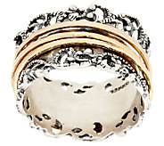 Sterling Silver Lace Design Spinner Ring by Or Paz - J317977