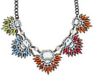 LOGO Links by Lori Goldstein 18 Spikey Burst Statement Necklace - J320777