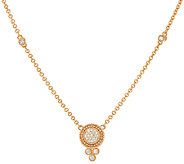 Judith Ripka 14K Gold 4/10 cttw Diamond Necklace - J321777