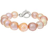 Honora Ming Cultured Pearl Average Sterling Bracelet - J321977