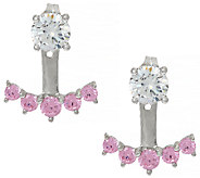 Diamonique Earring Jackets, Sterling - J326677