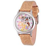 Disney Belle Girls Stainless Steel Watch - J342277
