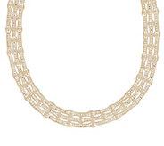 Arte dOro 17 Woven Bead Necklace, 18K 45.50g - J343777