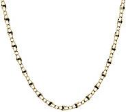 Vicenza Gold 18 Polished Marine Link Necklace 14K Gold 3.6g - J374777
