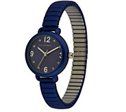 Isaac Mizrahi Live! Frosted Mini Expansion Watch - J284078
