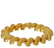 Judith Ripka 7-1/4 14K Clad Verona San Marco Bracelet 56.2g - J328778