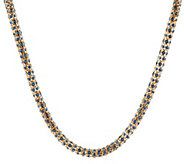 As Is Kenneth Jay Lanes 30 Crystal Rope Necklace - J329978