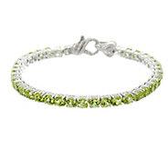 Judith Ripka Sterling & Gemstone Tennis Bracelet - J331578