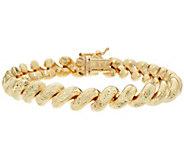 Italian Gold 6-3/4 San Marco Bracelet 14K Gold, 18.7g - J349078