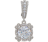 Judith Ripka Sterling Silver 2.45 cttw Diamonique Enhancer - J350278