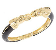 Kenneth Jay Lanes_Powerful Elephant Bangle Bracelet - J149479