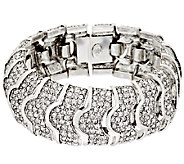 Joan Rivers Pave Crystal Heirloom Bracelet - J292379