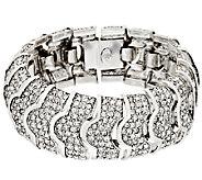 Joan Rivers Pave Crystal Heirloom Bracelet - J292379