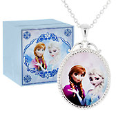 Disneys Frozen Necklace with Music Box - J296579