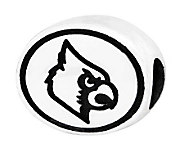 Sterling Silver University of Louisville Bead - J300779