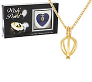 Wish Pearl Cultured Pearl Heart Pendant w/ Chain - J318679