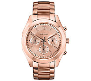 Caravelle New York Womens Rosetone Bracelet Watch - J336579