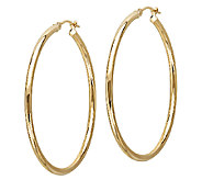 EternaGold 1-1/2 14K Gold Polished Tube Hoop Earrings - J340479