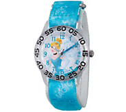 Disney Princess Cinderella Girls Time Teacher Watch - J342279