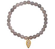 Satya Lotus Petal Gemstone Stretch Bracelet - J342779