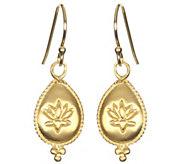 Satya Lotus Flower Dangle Earrings - J342879