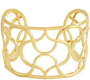 Sterling Moroccan Wave Cuff by Silver Style - J345379
