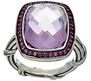 Peter Thomas Roth Sterling 7.70 ct Gemstone Cocktail Ring - J347879